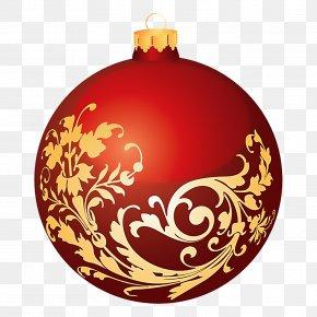 Beautiful Christmas Cliparts - Santa Claus Christmas Ornament Ball Clip Art PNG
