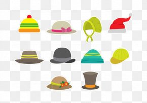 Hat Hat Baseball Cap Combination - Top Hat Baseball Cap Bowler Hat PNG