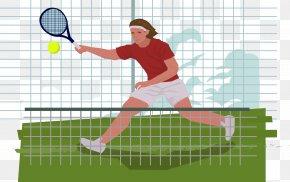 Play Tennis Vector - Tennis Centre Euclidean Vector PNG
