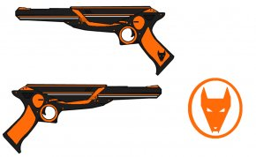 Ray Gun Cliparts - Trigger Raygun Firearm Drawing Clip Art PNG