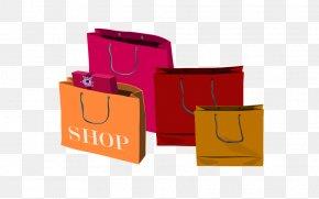 Shopping Clipart - Shopping Bags & Trolleys Gift Clip Art PNG