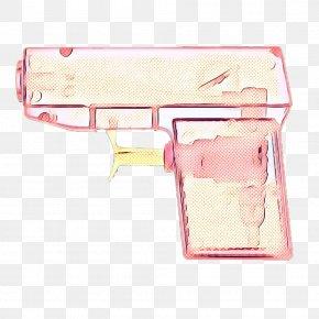 Gun Pink - Gun Cartoon PNG