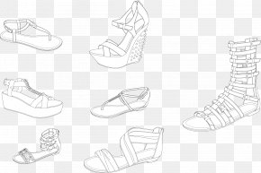 Variety Fashion Style Summer Sandals Image - Sandal Shoe PNG