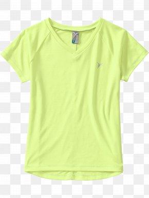 Light Green T-shirt - T-shirt Shoulder Sleeve PNG