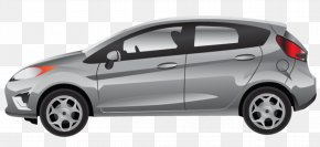 Silvery White Mercedes - Car Ford Fiesta Ford Mustang Ford Transit PNG