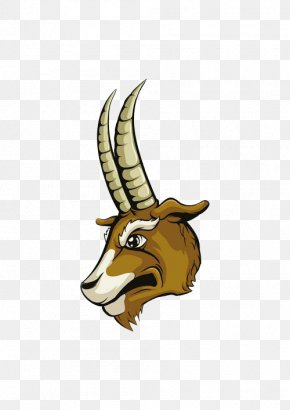 Angry Goat - Goat Cartoon Sheep Illustration PNG