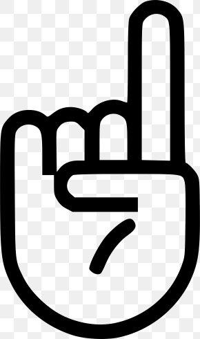 Finger Up - Index Finger Thumb Hand Clip Art PNG