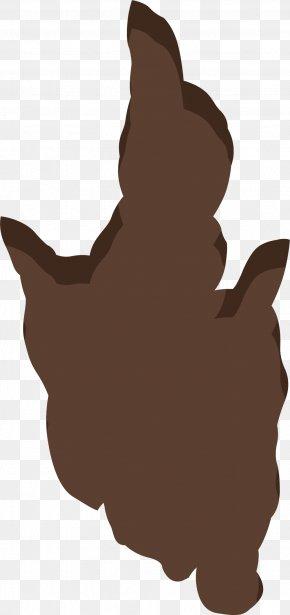 Sunken Footprints - Dog Paw Euclidean Vector PNG