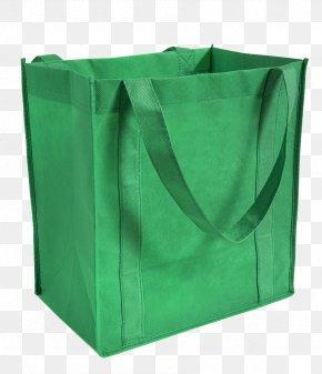 Green Canvas Shopping Bag - Tote Bag Reusable Shopping Bag Canvas PNG