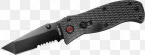 Knife - Knife Tool Weapon Serrated Blade PNG