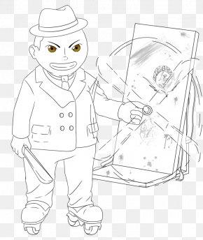 Onigiri - Line Art Human Behavior Headgear Sketch PNG