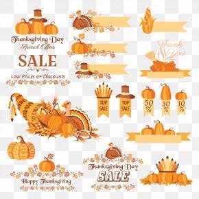 Halloween - Thanksgiving Pumpkin Clip Art PNG