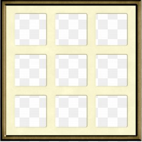 Brown Beautiful Windows - Window Picture Frame Square Area Pattern PNG