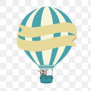 Vector Hot Air Balloon - Hot Air Balloon Euclidean Vector PNG