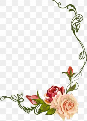 Beautiful Roses - Floral Design Garden Roses Watercolor Painting Flower Clip Art PNG