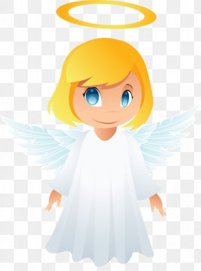 Trial Offer Cartoon Angeles Times - Cherub Clip Art Vector Graphics Image PNG