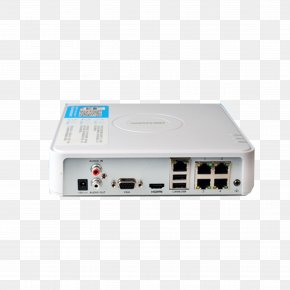 Home White Hard Disk Video Recorder - Network Video Recorder Hikvision Webcam Videocassette Recorder High-definition Television PNG