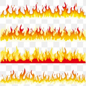 Flame - Flame Fire Line Clip Art PNG