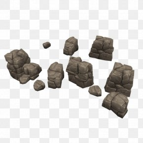 Low Poly - Low Poly Rock Concept Art 3D Computer Graphics PNG
