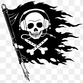 Pirate Clipart - Piracy Jolly Roger Clip Art PNG