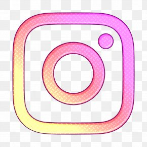 Pink Social Media Icon - Instagram Icon Social Media Icon PNG