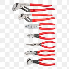 Tongue-and-groove Pliers - Diagonal Pliers Hand Tool Lineman's Pliers Needle-nose Pliers PNG