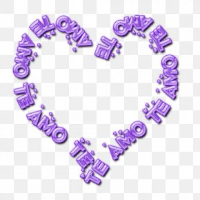 Te Amo - Text Photography PNG
