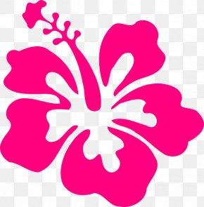 Blue Hibiscus Cliparts - Shoeblackplant Hawaiian Hibiscus Color Clip Art PNG