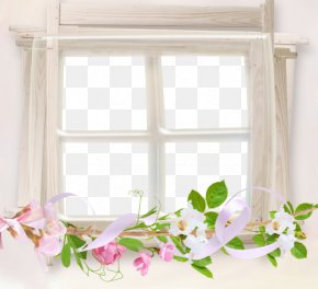 Free Windows To Pull The Material - Window Covering Picture Frame PNG