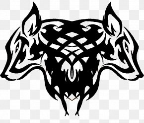 Wolf Tattoos Free Image - Gray Wolf Tattoo Clip Art PNG