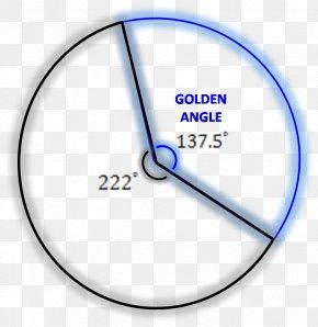 Line Angle Point Pattern - Golden Angle Golden Ratio Golden Spiral Fibonacci Number PNG