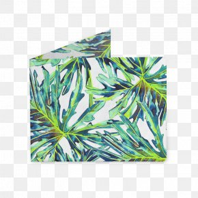 Watercolor Tropical Plants - Leaf Rectangle Tropics PNG