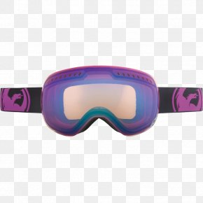 Swimming Goggles - Goggles Purple Blue Yellow Red PNG