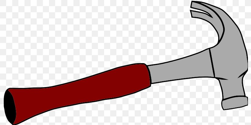 Geologists Hammer Claw Hammer Clip Art, PNG, 800x408px, Hammer, Claw Hammer, Cold Weapon, Free Content, Gavel Download Free