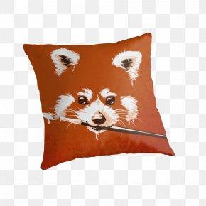 Extravagant Men - Red Fox Coton De Tulear Carnivora Pillow Mammal PNG