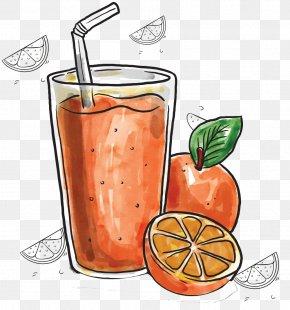 Summer Orange Juice - Orange Juice Fruit Fruchtsaft PNG