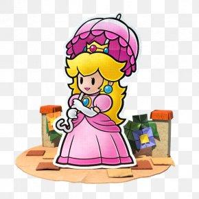 Wedding Carriage - Princess Peach Paper Mario: Color Splash Toad PNG