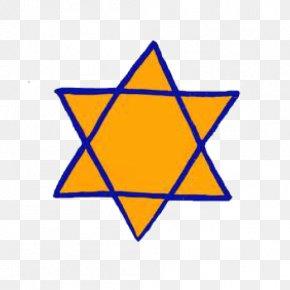 Judaism - The Holocaust Yellow Badge Star Of David Jewish People Judaism PNG