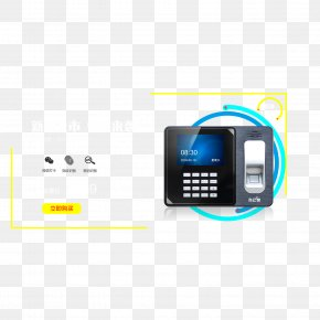 Punch Card Machine Identification Card Attendance Management - Time Clock Attendance Management PNG