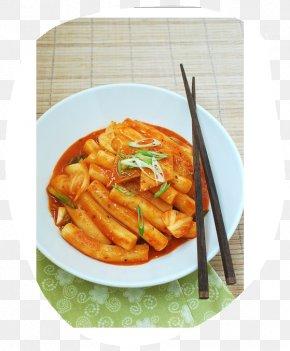 Rice - Tteok-bokki Korean Cuisine Rice Cake Street Food PNG