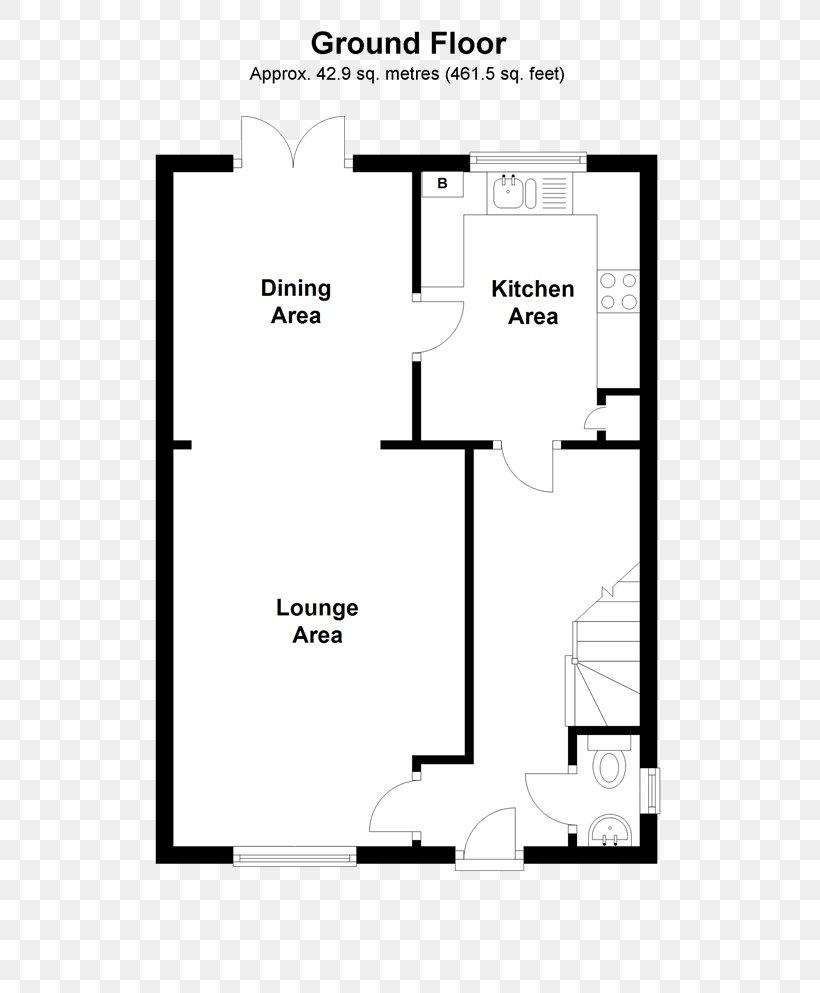 Bedroom House Floor Plan Open Plan Semi Detached Png 520x993px Bedroom Apartment Area Bathroom Black And