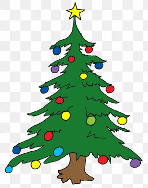 Christmas Tree - How The Grinch Stole Christmas! Clip Art Christmas Tree Openclipart PNG