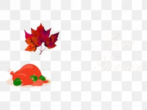 Thanksgiving - Text Leaf Petal Illustration PNG