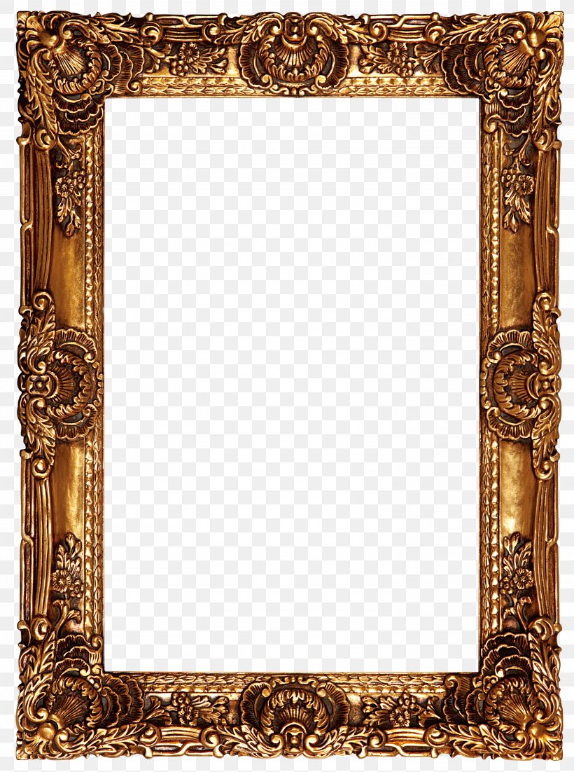 Picture Frame Oil Painting High-definition Video, PNG, 2986x4013px, Picture Frame, Brass, Decorative Arts, Film Frame, Highdefinition Video Download Free