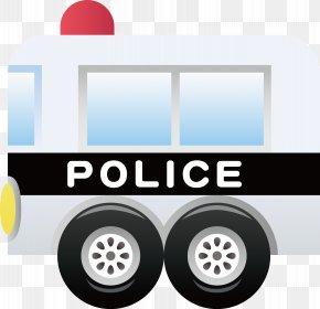 Police Car Decoration Design Vector - Police Car Prisoner Transport Vehicle PNG