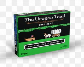 Oregon Trail Days - Pressman Toy The Oregon Trail Card Game Video Game PNG
