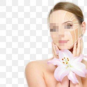 Supple White Smile Women - Skin Care Facial Rejuvenation Massage PNG