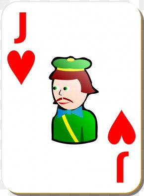 Hearts Cartoon - Jack Playing Card Game Clip Art PNG