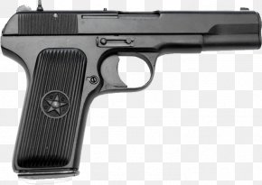 Tt Russian Handgun Image - Firearm Handgun Pistol PNG