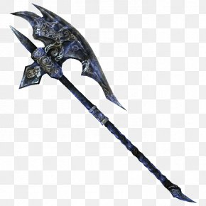 Weapon - The Elder Scrolls V: Skyrim – Dragonborn The Elder Scrolls III: Bloodmoon Shivering Isles Battle Axe Weapon PNG
